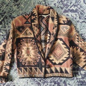 Vintage Western Aztec Jacket